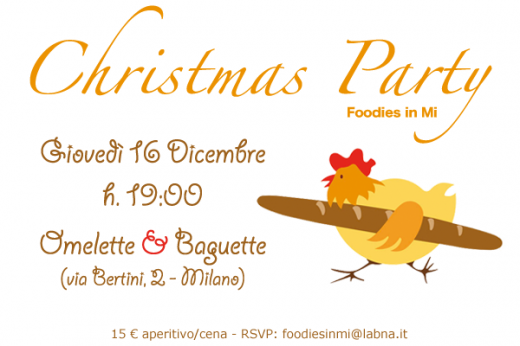 Foodies in Mi – Christmas Party