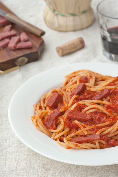 Amatriciana, kosher style