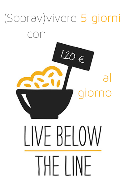 Live below the line - Italia