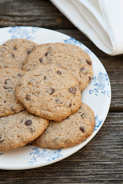 Chocolate chip cookies per Pesach