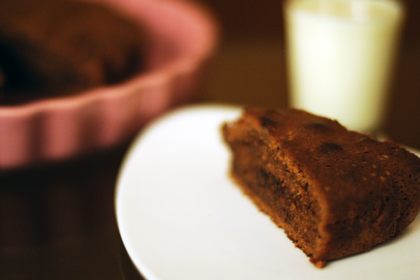Torta amaretti e cacao