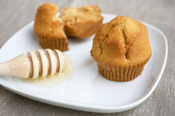 Muffin integrali al miele