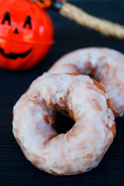Doughnuts alla zucca
