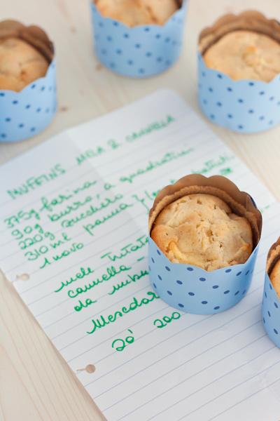 Muffin mela e cannella di Federico