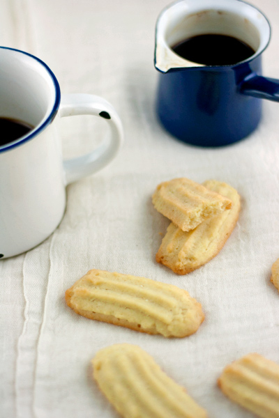 Biscottini di pasta frolla montata