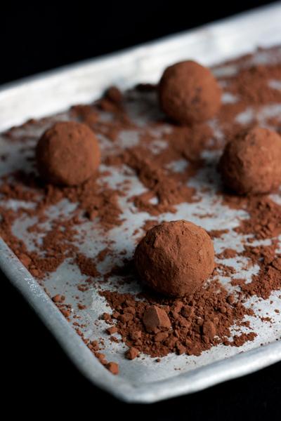 Tartufi di cioccolato alla Nutella