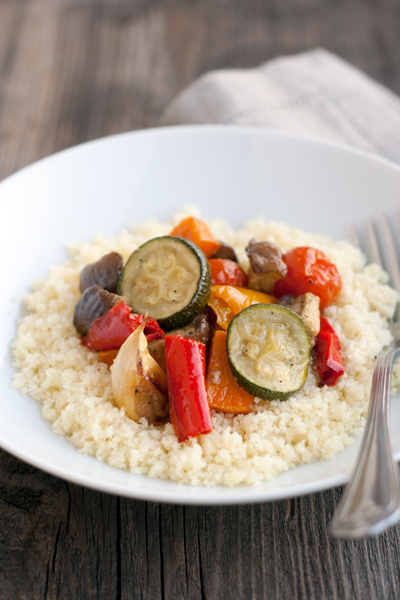Couscous con verdure grigliate