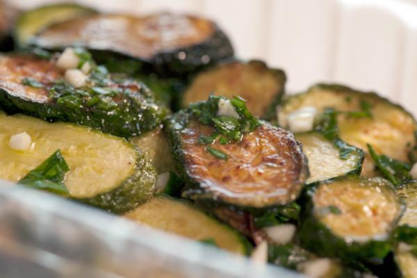 Concia di zucchine