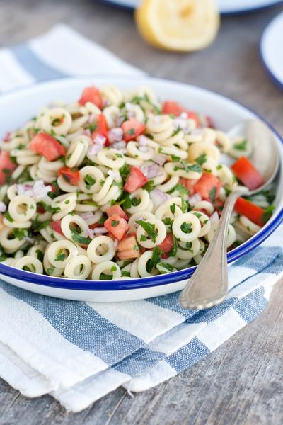 Tabouleh con la pasta