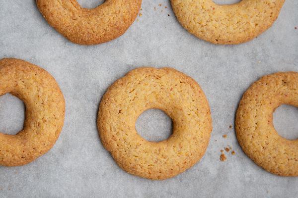 Biscotti di farina di mais