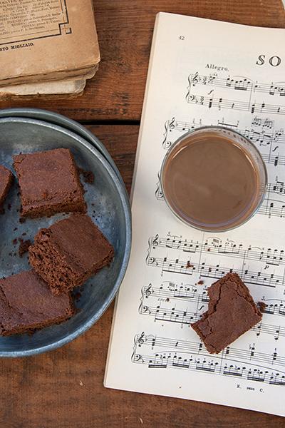Brownies al Baileys