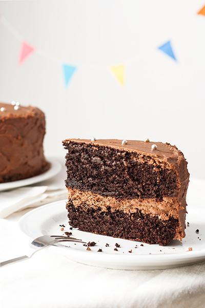 Torta al cioccolato morbida e umida, soffice e perfetta da farcire