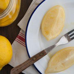 Citrons confit