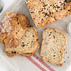 Pane vegano senza glutine