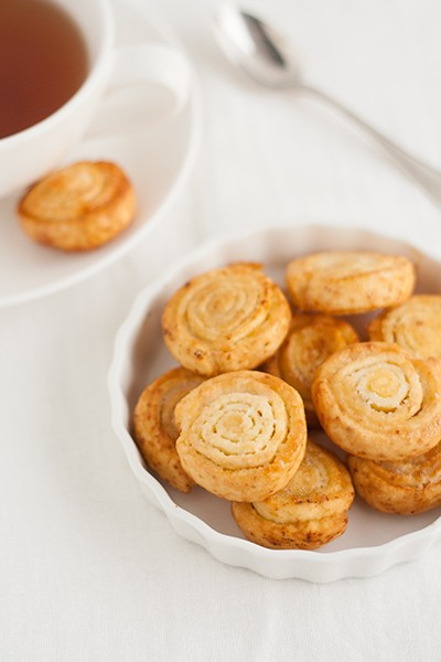 Rotelline di tagliatelle fritte dolci