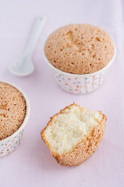 Muffin all'acqua di rose