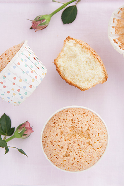 Muffin all'acqua di rose