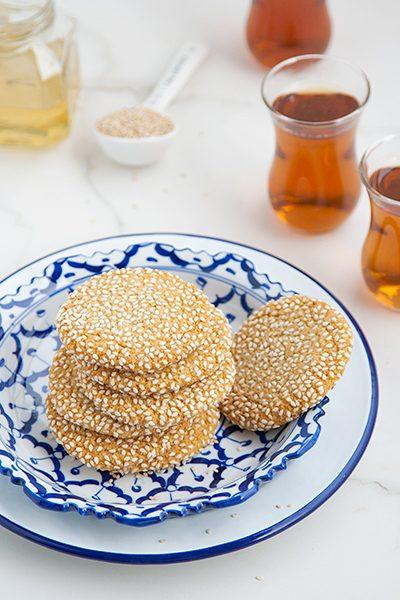 Biscotti tahina e miele