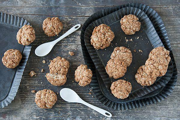 Biscotti vegani ai fiocchi d'avena