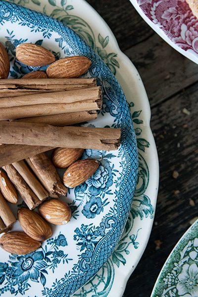 Ingredienti dei biscotti Jødekager