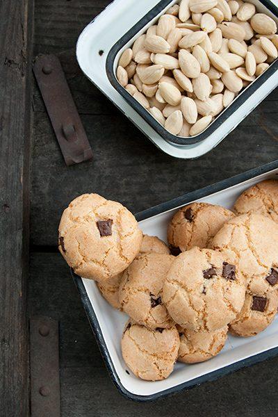 Biscotti di mandorle senza glutine