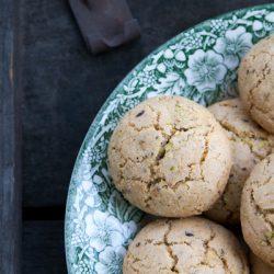 Biscotti senza glutine al pistacchio