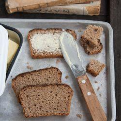 100% rye sourdough bread