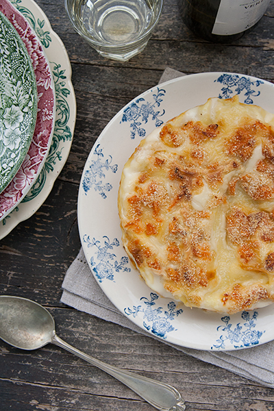 Lasagne al salmone con ricotta e zucchine