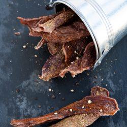 Carne secca o beef jerky