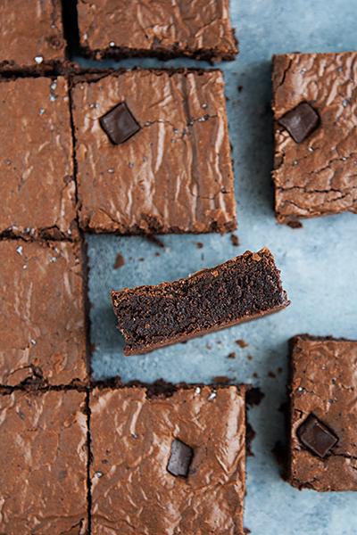 Brownies con farina di segale integrale