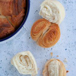 Kubaneh Yemenite bread rolls